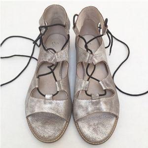 NEW Seychelles Leather Gladiator Sandals Size 7.5